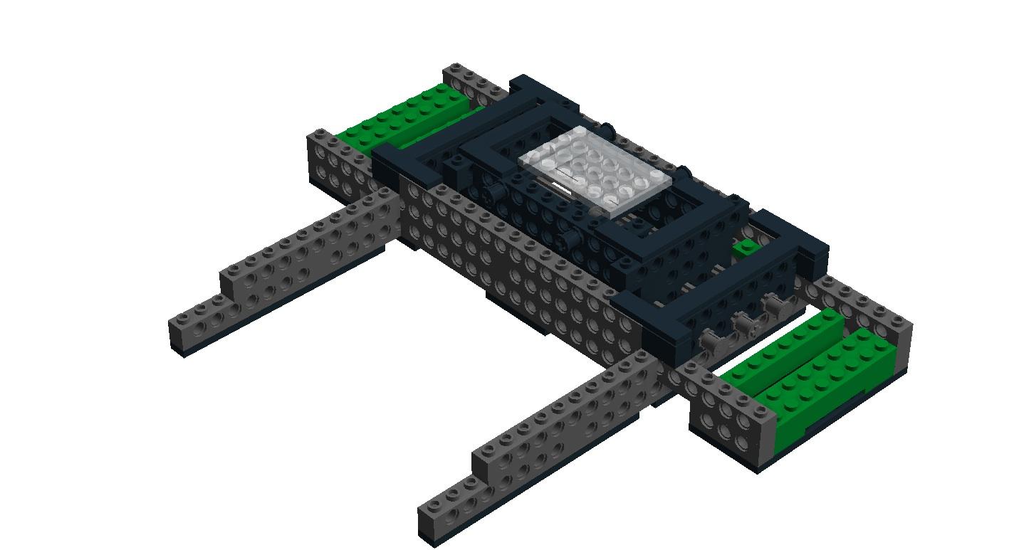 LEGO 3D rig