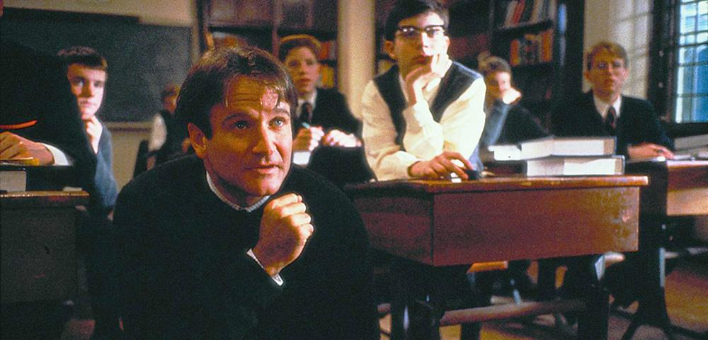 Robin Williams im CLUB DER TOTEN DICHTER